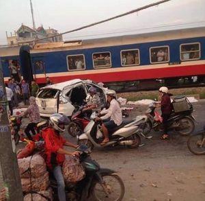 Tàu hỏa đâm ôtô ở Thường Tín: Đã có thêm nạn nhân tử vong
