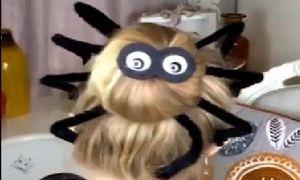 Kiểu tết tóc con nhện cực dị cho đêm Halloween