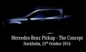 Tiết lộ ban đầu hình hài Mercedes-Benz Pickup sắp ra mắt