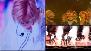 Fan xót xa nhìn Jin (BTS) bị thương trên sân khấu khi biểu diễn hit 'khủng'