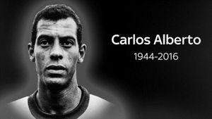 Huyền thoại người Brazil Carlos Alberto qua đời