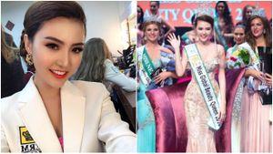 Hoa hậu Ngọc Duyên: 'Tôi chạnh lòng vì đi thi mà ít được ai quan tâm, chú ý!'