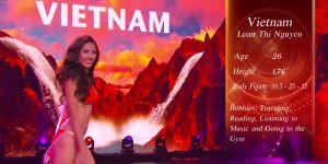Nguyễn Thị Loan xuất sắc vào top 20 'Hoa hậu hòa bình quốc tế'