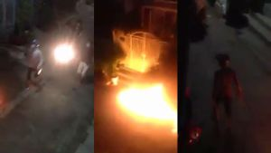 Đòi nợ bất thành, nhóm thanh niên mang bom xăng đi trả thù
