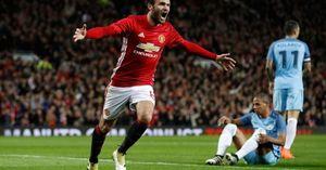 Juan Mata tỏa sáng, Mourinho 'rửa hận' thành công trước Pep Guardiola tại Old Trafford