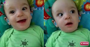 Xúc động cậu bé khiếm thính lần đầu tiên nghe được giọng mẹ