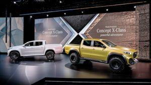 Chiêm ngưỡng mẫu bán tải đầu tiên của Mercedes-Benz vừa ra mắt