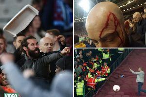 Fan Chelsea bị 'tẩn' như phim hành động ở trận thua đau
