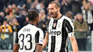Chiellini lập cú đúp giúp Juventus thắng đậm Sampdoria