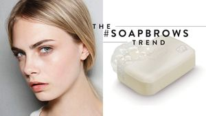 Thật điên rồ nhưng các beauty blogger đang cùng lăng xê trào lưu chải xà bông lên lông mày