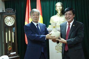 Chủ tịch Tổng LĐLĐVN tiếp Tổng thư ký Tổng Công đoàn Quốc tế khu vực Châu Á - Thái Bình Dương