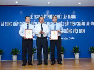 Bộ trưởng Bộ TT&TT: 'VNPT là ngọn cờ đầu để triển khai 4G'
