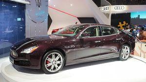 Video Maserati Quattroporte 2017 đầu tiên tại VN