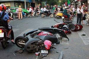 Gần 300 người chết và bị thương vì TNGT trong 5 ngày nghỉ Tết