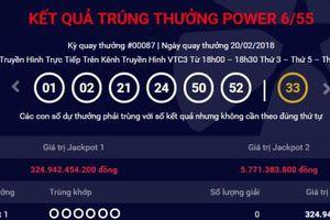 Xổ số Vietlott: Đã tìm ra chủ nhân trúng giải Jackpot hơn 300 tỷ ngày hôm qua?