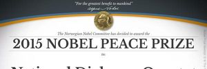 Bất ngờ giải Nobel Hòa bình 2015