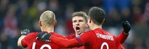 Bayern 4-0 Olympiacos: Trao quyền cho Arsenal