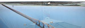 Cận cảnh công trường cầu vượt biển dài nhất Việt Nam ngày cận Tết
