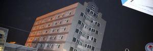 Động đất 6,4 độ Richter quật đổ chung cư 17 tầng ở Đài Loan