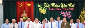 Chủ tịch nước và Chánh án TAND tối cao chúc Tết tại Long An