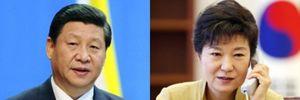 Lãnh đạo Trung Quốc, Hàn Quốc hội đàm về vấn đề Triều Tiên