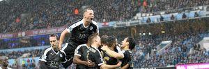 Man City 1-3 Leicester: Bóng dáng nhà vô địch
