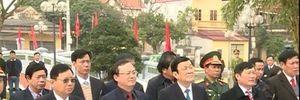 Chủ tịch nước Trương Tấn Sang chúc Tết Đảng bộ và nhân dân Hưng Yên