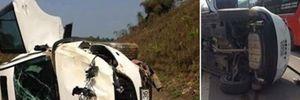 Mazda CX-5 gặp nạn, một phụ nữ mang thai 8 tháng tử vong