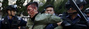 Bạo loạn nghiêm trọng lại nổ ra ở Hồng Kông mùng 2 Tết