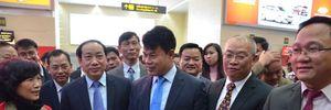 Lãnh đạo Vietjet thị sát sân bay đêm giao thừa