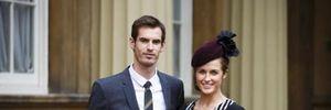 Tay vợt Andy Murray lên chức bố