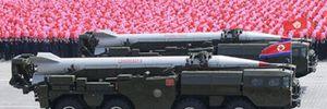 Những tên lửa đạn đạo trong kho vũ khí của Triều Tiên