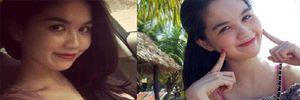 Bằng chứng cho thấy Ngọc Trinh chỉ đẹp khi photoshop