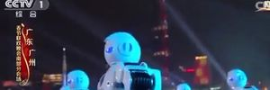 Hơn 500 robot nhảy chào đón năm mới ở Trung Quốc
