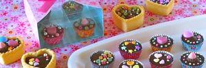 """Cách làm sô cô la handmade """"siêu đẹp"""" tặng người yêu dịp valentine"""