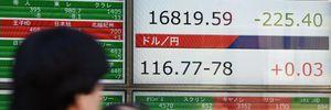 Chứng khoán Nhật Bản rơi xuống mức thấp nhất trong 16 tháng qua