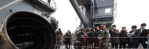 Hàn Quốc thu được mảnh vỡ nghi từ tên lửa phóng vệ tinh của Triều Tiên