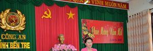 Lãnh đạo Quốc hội, Ban Dân vận Trung ương và Bộ Công an thăm, chúc Tết Công an Bến Tre