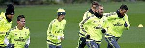 Zidane bắt các cầu thủ phải tập luyện liên tục