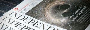 Tờ báo in The Independent bị 'khai tử'