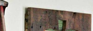 Tận dụng pallet tạo điểm nhấn lạ mắt cho tường nhà