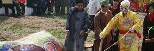 Xem 'vua' cày trong lễ hội Tịch điền