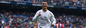 Clip: Con trai Ronaldo ăn mừng bố ghi bàn vào lưới Athletic Bilbao