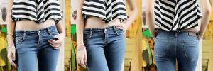 Chọn quần jeans hợp với người mập