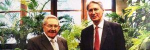 Ngoại trưởng Anh ca ngợi Chủ tịch Cuba về những cải cách vừa qua