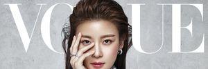 Ha Ji Won quyến rũ trên trang bìa Vogue