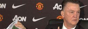 10 lần gây bão của Van Gaal tại Man Utd
