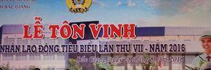 LĐLĐ tỉnh Bắc Giang: Tuyên dương 130 CNLĐ tiêu biểu