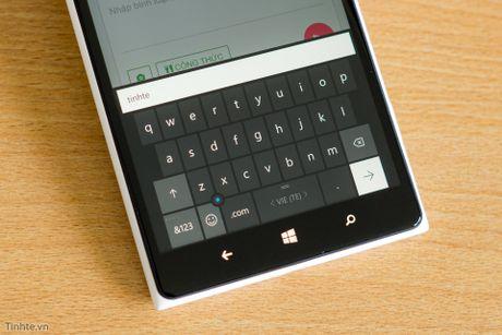 Windows 10 Mobile: chỉnh kích thước phím của Lumia 1520 nhỏ lại để dễ dùng hơn
