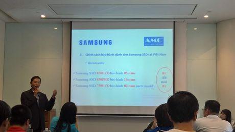 Samsung giới thiệu 3 dòng ổ cứng SSD mới